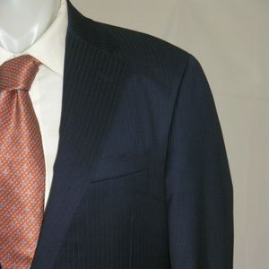 Hickey Freeman Loro Piana 150 Two Button Suit 44L